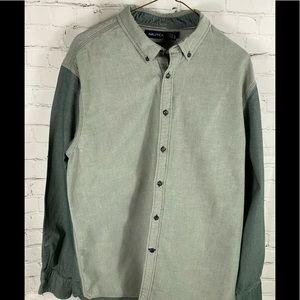 Nautica Slim Fit Colorblock L/S Shirt